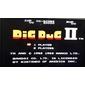 Cartucho Dig Dug II para NES