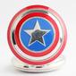 Relógio de Bolso Marvel Capitão América Com Corrente