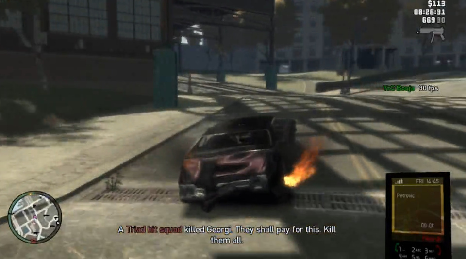 Jogo Grand Theft Auto IV para Playstation 3 - GTA IV - Seminovo