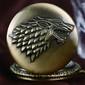 Relógio de Bolso Game Of Thrones / Guerra dos Tronos - House Stark