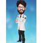 Caricatura Formando e Medicina, Médico(a)