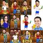 Caricatura Individual - Profissões, Formandos, Médicos, Fotógrafos, Saúde e Muito Mais