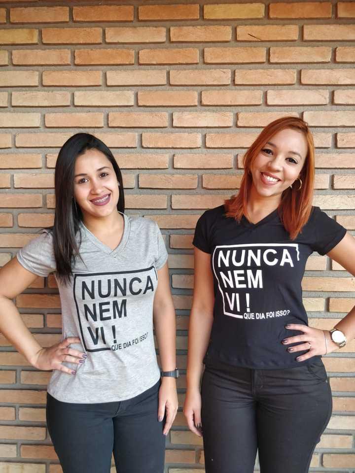 cfc2a048ad766 Blusinha  T-shirt - de Frases da Moda - FIGNANA ATACADO