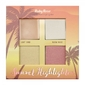 Paleta Iluminador Sunset Highlighter Light Ruby Rose