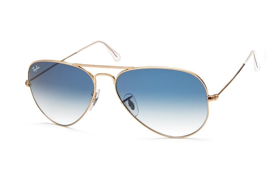 1bd86d14546b6 Óculos estilo Ray Ban aviador lente azul - Só R   24,99 Entrega ...