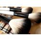 Kit com 20 Pinceis para maquiagem xadrez - Pronta entrega