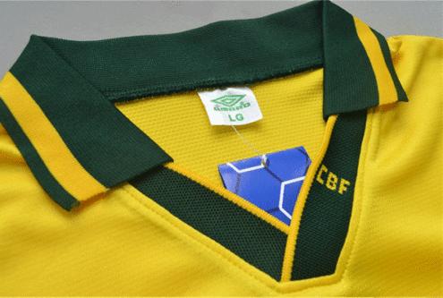 0c0c895624ac1 ... Camisa Retrô da Seleção do Brasil 1994 - Home - Final Copa do Mundo -  Frete ...