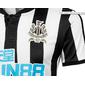 Camisa do Newcastle United da Inglaterra - Home - 2017 / 2018 - Personalização e Frete Grátis
