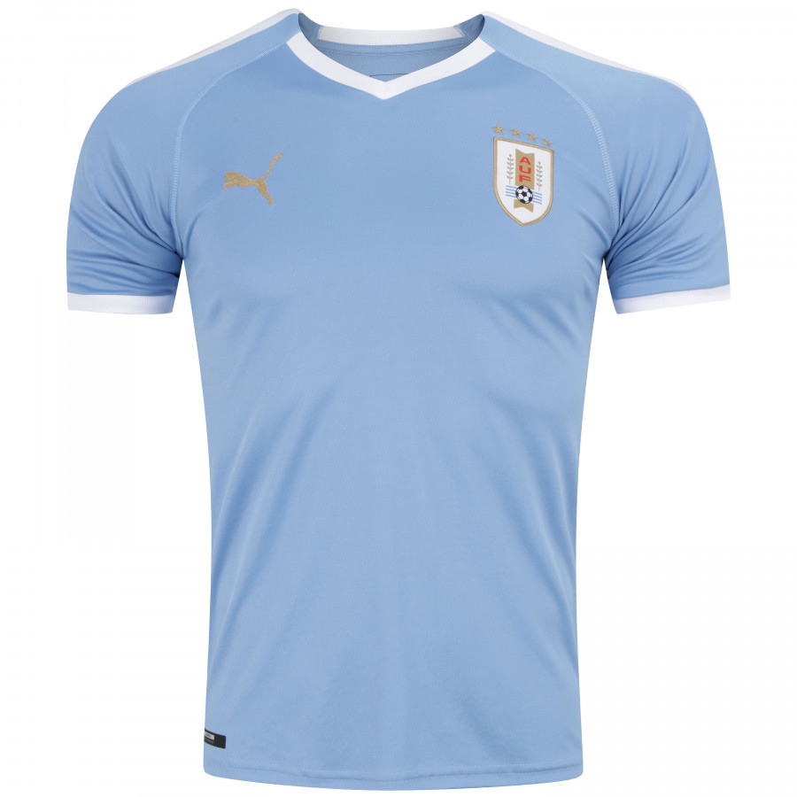Camisa do Uruguai - Home - 2019 - Personalização e Frete Grátis