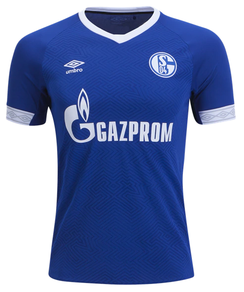 Camisa do Schalke 04 - Home - 2018  / 2019 - Personalização e Frete Grátis