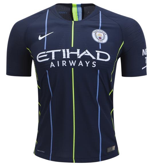 Camisa do Manchester City - Away - 2018 / 2019 - Personalização e Frete Grátis