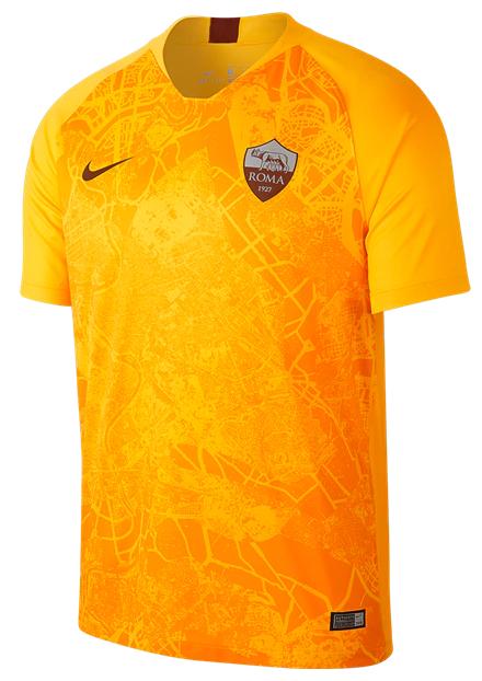 Camisa da Roma da Itália - Third - 2018 / 2019 - Personalização e Frete Grátis