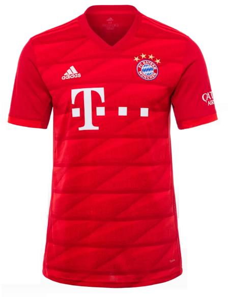 Camisa do Bayern de Munique - Home - 2019 / 2020 - Personalização e Frete Grátis