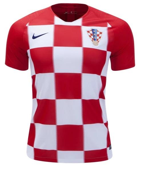 Camisa da Seleção da Croácia 2018 - Home - Personalização e Frete Grátis