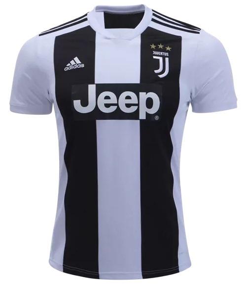 Camisa da Juventus da Itália - Home - 2018 / 2019 - Personalização e Frete Grátis
