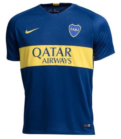 Camisa do Boca Juniors da Argentina - Home 2018 / 2019 - Personalização e Frete Grátis