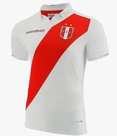 Camisa da Seleção do Peru 2019 - Home - Personalização e Frete Grátis