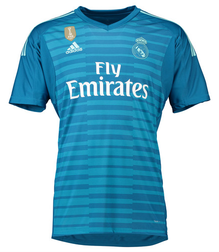 Camisa de Goleiro do Real Madrid - 2018  2019 - Personalização e Frete  Grátis ... abd9300aa9da7
