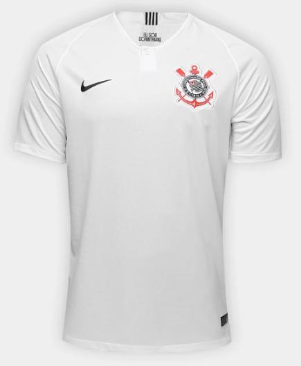 Camisa do Corinthians Home 2018 - Personalização e Frete Grátis