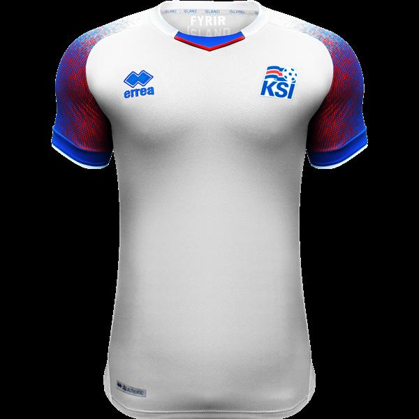 Camisa da Islândia - Away - 2018 - Copa do Mundo - Personalização e Frete Grátis