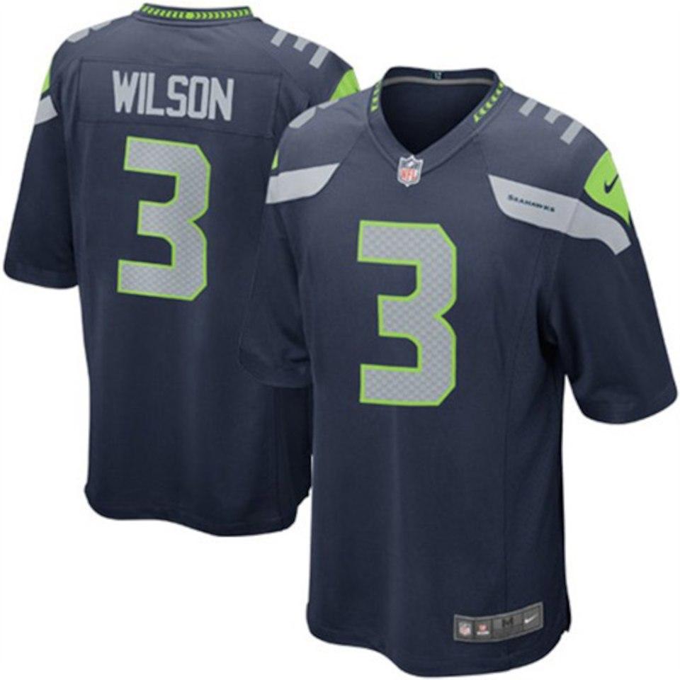 Camisa do Seattle Seahawks - Home 2018/2019 -  NFL - Qualquer Jogador -  Oficial