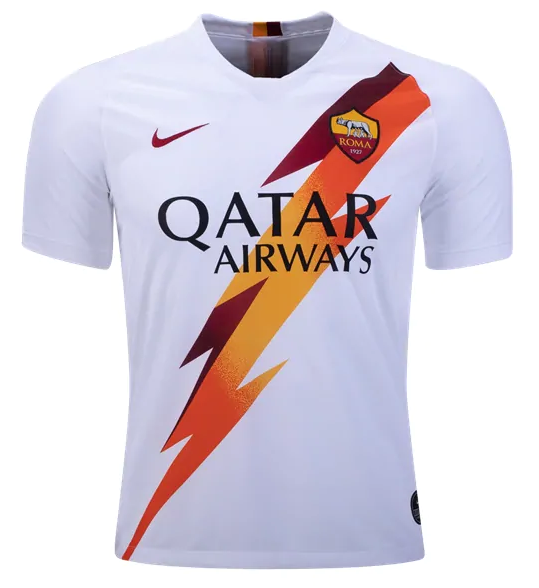 Camisa da Roma da Itália - Away - 2019 / 2020 - Personalização e Frete Grátis
