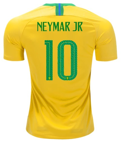 b200e1909e Camisa da Seleção Brasileira - Brasil - Home - 2018 Nar  10 Copa do Mundo  Camisa da Seleção Brasileira - Brasil - Home - 2018 Nar  10 Copa do Mundo