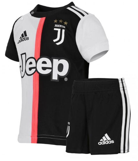 Uniforme Infantil da Juventus Oficial Home 2019 / 2020 Personalização e Frete Grátis
