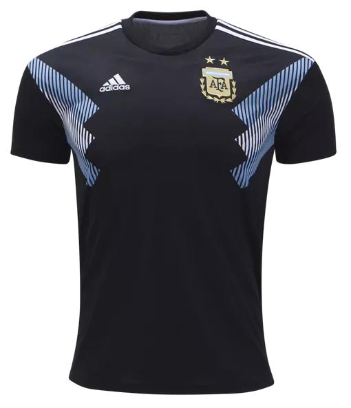 7acc672cf1640 Camisa da Seleção da Argentina - Away - 2018 - Personalização e Frete  Grátis Camisa da Seleção da Argentina - Away - 2018 - Personalização e  Frete Grátis