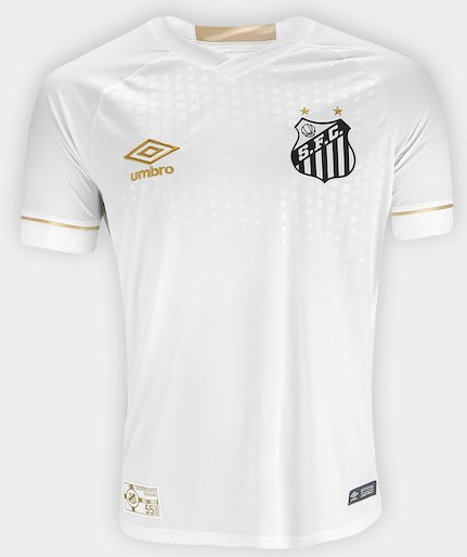 Camisa do Santos - Home - 2018 - Personalização e Frete Grátis