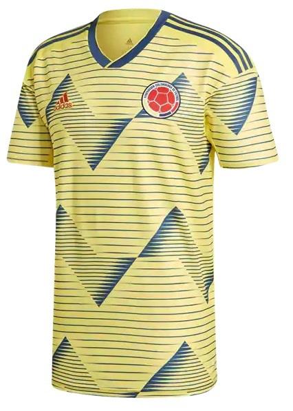 Camisa da Colômbia - Home - 2019 - Personalização e Frete Grátis
