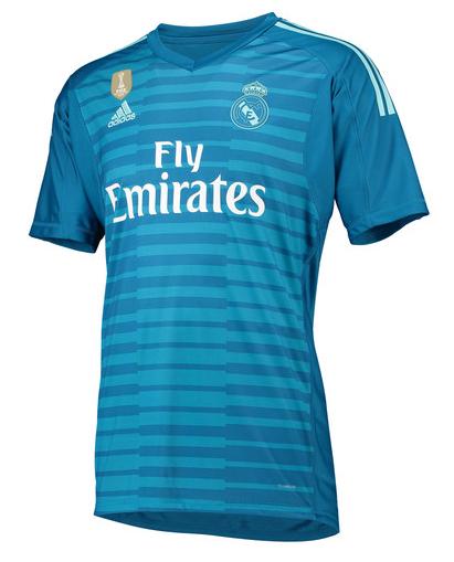 Camisa de Goleiro do Real Madrid - 2018  2019 - Personalização e Frete  Grátis Camisa de Goleiro do Real Madrid - 2018  2019 - Personalização e Frete  Grátis cd26bc0edc90a