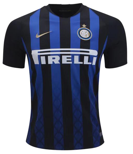Camisa da Inter de Milão da Itália - Internazionale Home - 2018 / 2019 - Personalização e Frete Grátis