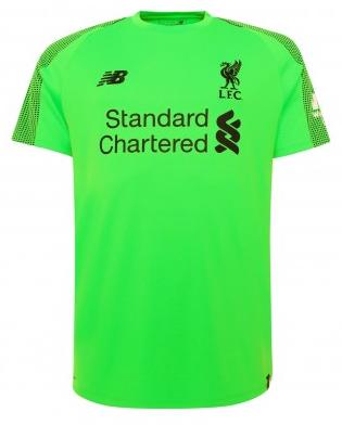 Camisa de Goleiro do Liverpool - Manga Curta - 2018 / 2019 - Personalização e Frete Grátis
