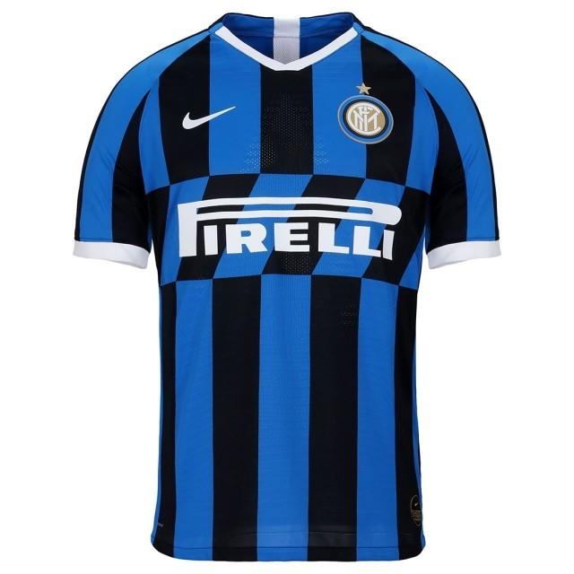 Camisa da Inter de Milão da Itália - Internazionale Home - 2019 / 2020 - Personalização e Frete Grátis