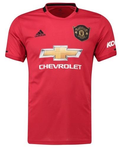 Camisa do Manchester United - Home - 2019 / 2020 - Personalização e Frete Grátis