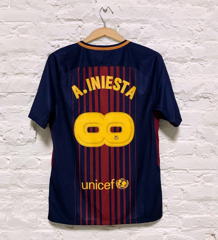 Camisa do Barcelona - Especial INIESTA Infinito - Frete Grátis