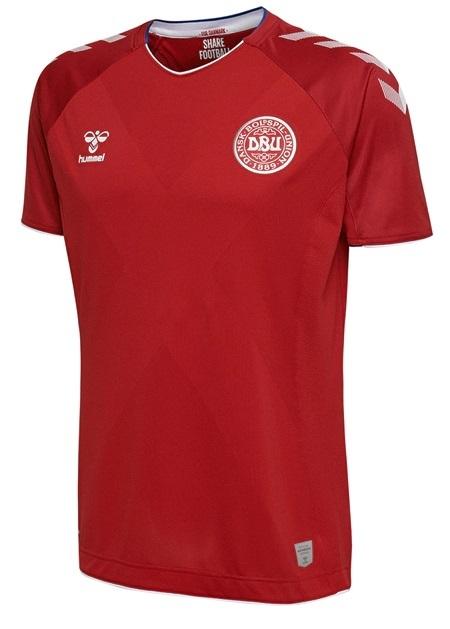 Camisa da Seleção da Dinamarca  - Home 2018 - Personalização e Frete Grátis