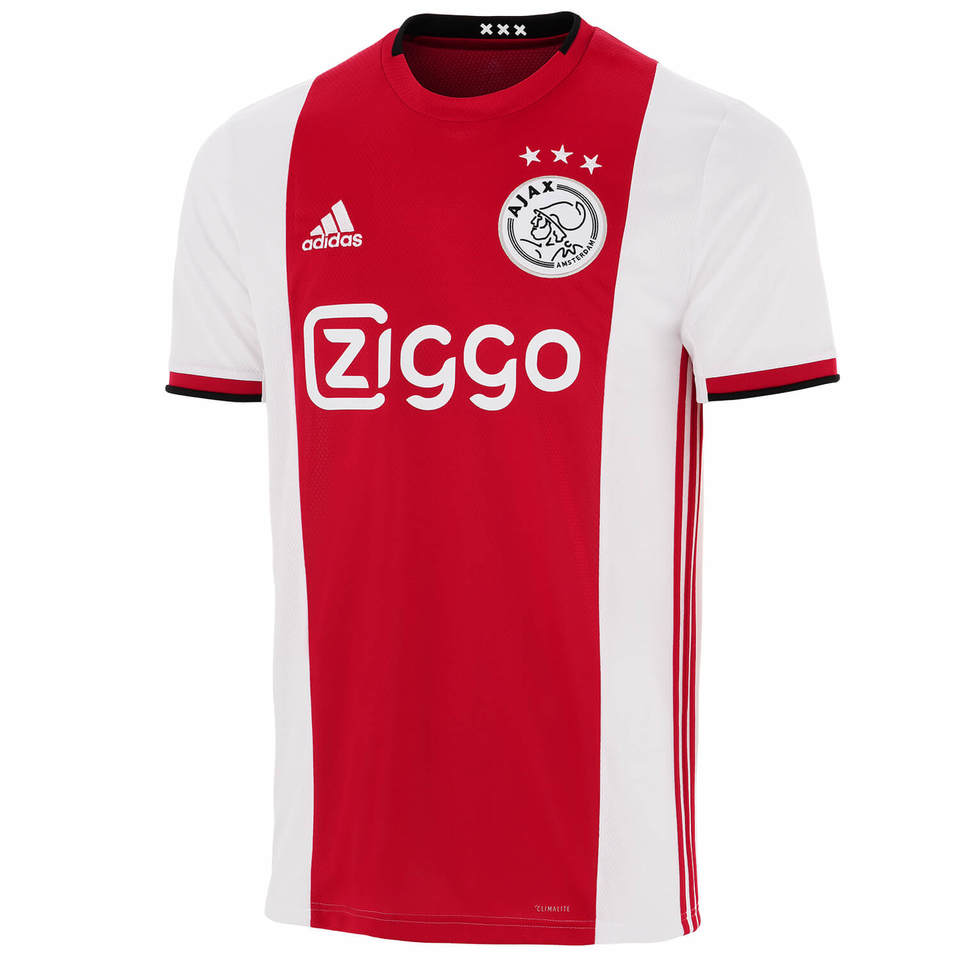 Camisa do Ajax da Holanda - Home 2019 / 2020 - Personalização e Frete Grátis
