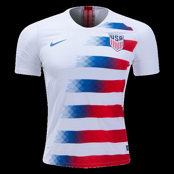 36986e2ef4 Camisa da Seleção dos Estados Unidos Home 2018 - Personalização e Frete  Grátis