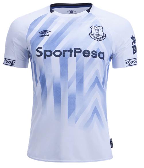 Camisa do Everton da Inglaterra - Third - 2018 / 2019 - Personalização e Frete Grátis