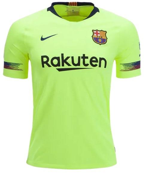 Camisa do Barcelona - Away 2018 / 2019 - Personalização e Frete Grátis