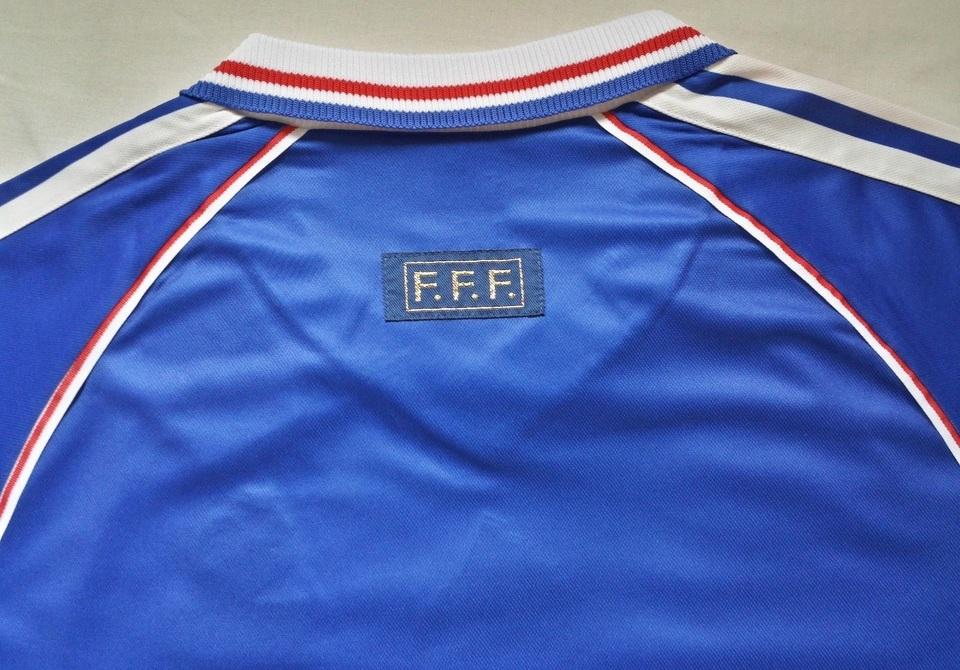 27fd19d6d3 ... Camisa Retrô da Seleção da França 1998 - Home - Final Copa do Mundo -  Frete ...