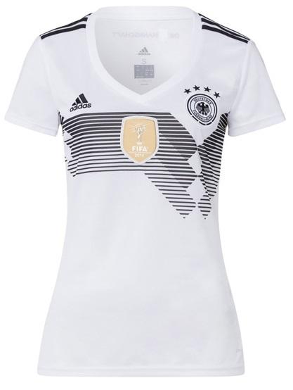 Camisa Baby Look da Seleção da Alemanha 2018- Home - Personalização e Frete Grátis