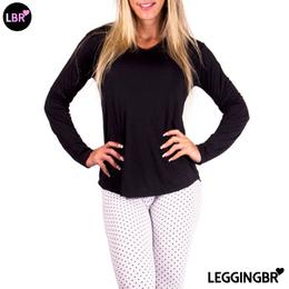 fc20cfa8f7 camiseta manga longa - Leggingbr