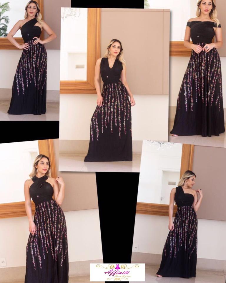 95e0192df Vestido Multiuso Viscolycra - Várias Estampas - Affinité Boutique