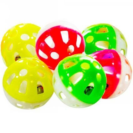 7847b9cd0bb1b Brinquedo Bola com Guizo para Gatos - PetClick