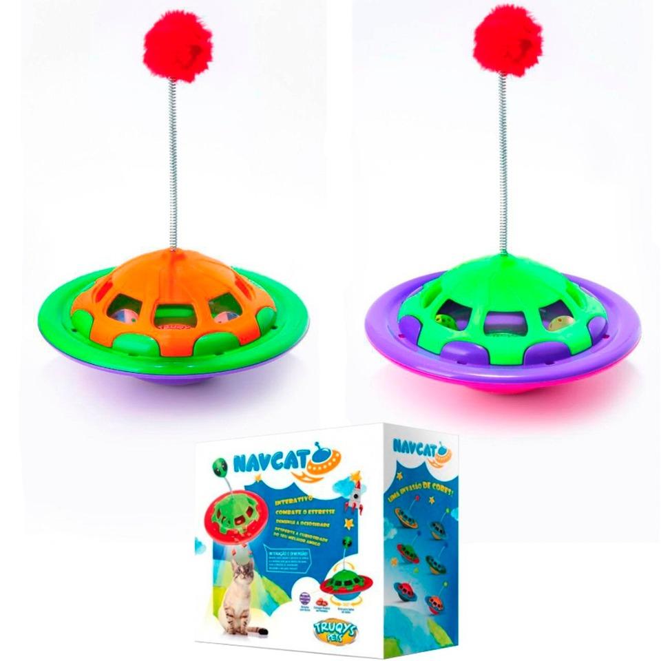 346b5c1486df1 Brinquedo e Comedouro Navcat Para Gatos - PetClick