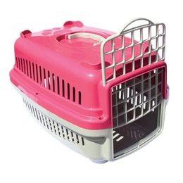 49768a561ab48 Caixa de Transporte Pata Forte Nº 1 Para Cães e Gatos