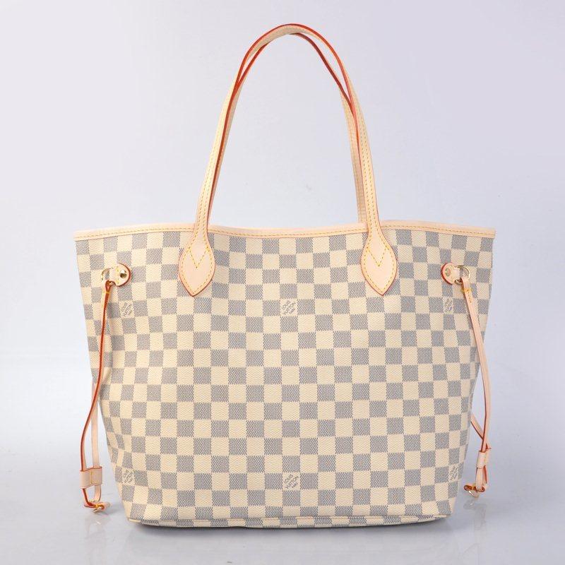 cd8e313de Bolsa Louis Vuitton Damier Azur Neverfull MM - Vitrine Valentina